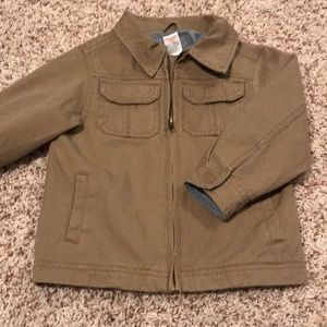 Toddler 2T-3T Khaki Jacket EUC